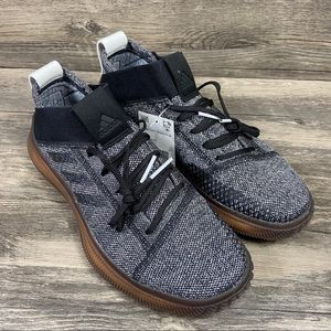 NWOB Adidas Pureboost Trainer Oreo Black Shoes
